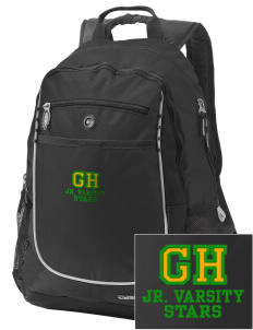 Gold Hill Elementary School Stars Embroidered OGIO Carbon Backpack