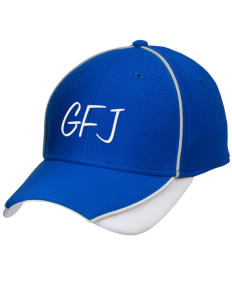 George F Johnson Elementary School Eagles Embroidered New Era Contrast Piped Performance Cap