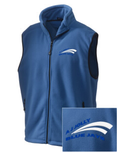 A J Jolly Elementary School Blue Jays Embroidered Unisex Wintercept Fleece Vest