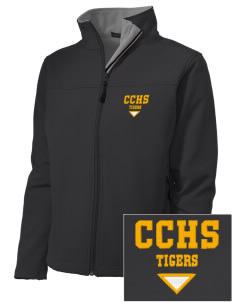 Clay County High School Tigers Embroidered Women's Soft Shell Jacket