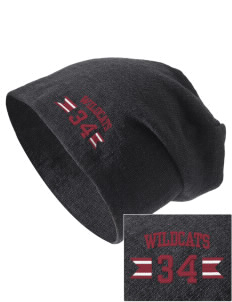 Shelby Elementary School Wildcats Embroidered Slouch Beanie