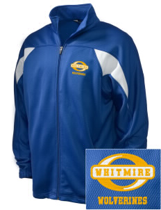 Whitmire High School Wolverines Embroidered Holloway Men's Full-Zip Track Jacket
