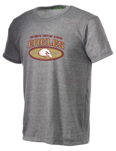 Portsmouth Christian Academy Eagles Alternative Men's Eco Heather T-shirt