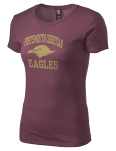 Portsmouth Christian Academy Eagles Alternative Women's Basic Crew T-Shirt