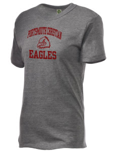 Portsmouth Christian Academy Eagles Alternative Unisex Eco Heather T-Shirt