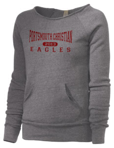Portsmouth Christian Academy Eagles Alternative Women's Maniac Sweatshirt