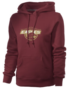 Portsmouth Christian Academy Eagles Russell Women's Pro Cotton Fleece Hooded Sweatshirt