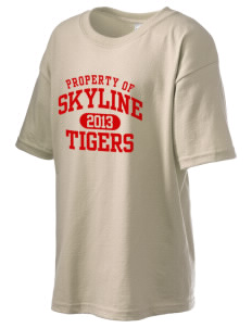 Skyline School Tigers Kid's 6.1 oz Ultra Cotton T-Shirt