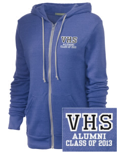 Vancleave High School Bulldogs Embroidered Alternative Unisex The Rocky Eco-Fleece Hooded Sweatshirt