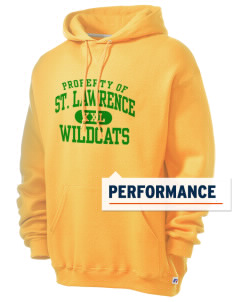 Saint Lawrence School Wildcats Russell Men's Dri-Power Hooded Sweatshirt