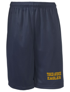"Tooker Avenue Elementary School Eagles Long Mesh Shorts, 9"" Inseam"