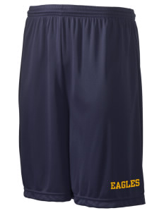 "Tooker Avenue Elementary School Eagles Men's Competitor Short, 9"" Inseam"