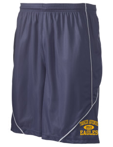 "Tooker Avenue Elementary School Eagles Men's Pocicharge Mesh Reversible Short, 9"" Inseam"
