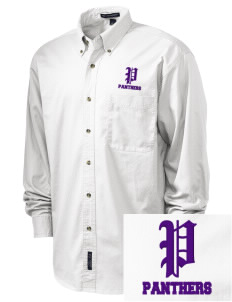Saint John's Lutheran School Panthers Embroidered Tall Men's Twill Shirt