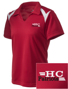Heritage Christian School Patriots Embroidered Holloway Women's Laser Polo