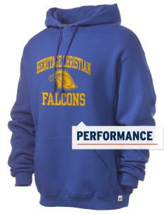 Heritage Christian School Falcons Russell Men's Dri-Power Hooded Sweatshirt
