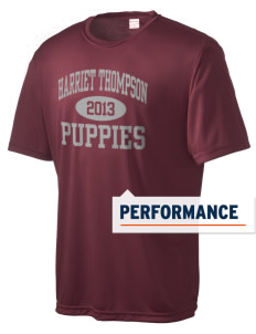 Harriet Thompson Elementary School Puppies Men's Competitor Performance T-Shirt