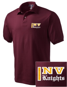 Naches Valley Middle School Knights Embroidered Men's Jersey Polo