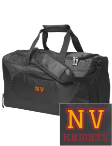 Naches Valley Middle School Knights Embroidered Holloway Chill Medium Duffel Bag