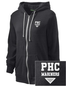 Pacific Harbor Christian School Mariners Embroidered Alternative Unisex The Rocky Eco-Fleece Hooded Sweatshirt