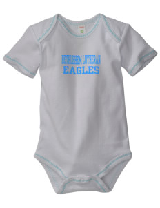 Bethlehem Lutheran School Eagles Baby Zig-Zag Creeper