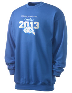 Bethlehem Lutheran School Eagles Men's 7.8 oz Lightweight Crewneck Sweatshirt