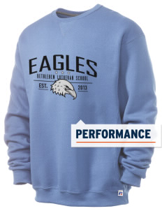 Bethlehem Lutheran School Eagles  Russell Men's Dri-Power Crewneck Sweatshirt