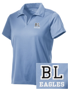 Bethlehem Lutheran School Eagles Embroidered Women's Double Mesh Polo