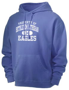 Bethlehem Lutheran School Eagles Men's 80/20 Pigment Dyed Hooded Sweatshirt