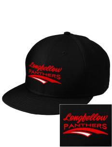 Longfellow Elementary School Panthers  Embroidered New Era Flat Bill Snapback Cap
