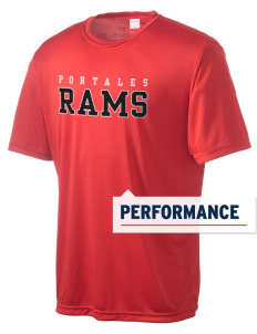 Portales Junior High School Rams Men's Competitor Performance T-Shirt