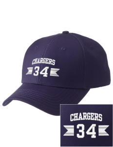 Dana Point Christian School Chargers  Embroidered New Era Adjustable Structured Cap