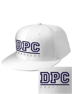 Dana Point Christian School Chargers Embroidered Diamond Series Fitted Cap