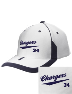 Dana Point Christian School Chargers Embroidered M2 Universal Fitted Contrast Cap