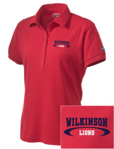 Wilkinson School Lions Embroidered OGIO Women's Jewel Polo
