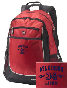 Wilkinson School Lions Embroidered OGIO Carbon Backpack