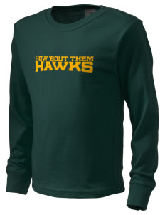 Fairbanks Country Day School Hawks  Kid's Long Sleeve T-Shirt