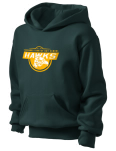Fairbanks Country Day School Hawks Kid's Hooded Sweatshirt