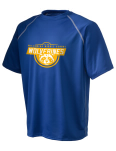 Willamina Middle School Wolverines Holloway Men's Vapor Performance T-Shirt
