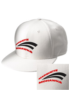 Marquette High School Mohawks  Embroidered New Era Flat Bill Snapback Cap