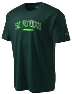 Saint Patrick's School Panthers Champion Men's Tagless T-Shirt