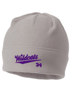 Irvington Elementary School Wildcats Embroidered Fleece Beanie