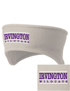 Irvington Elementary School Wildcats Embroidered Fleece Headband