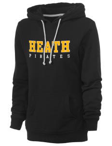 Heath Elementary School Pirates Women's Core Fleece Hooded Sweatshirt