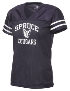 Spruce Elementary School Cougars Holloway Women's Fame Replica Jersey
