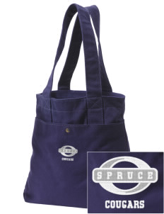 Spruce Elementary School Cougars Embroidered Alternative The Berkeley Tote