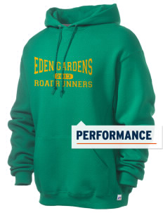 Eden Gardens Elementary School Roadrunners Russell Men's Dri-Power Hooded Sweatshirt
