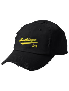 Anatola Elementx1y School Bulldogs Embroidered Distressed Cap