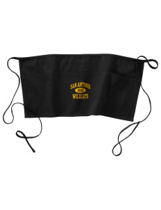 San Antonio Union School Wildcats Waist Apron with Pockets