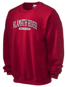 Klamath River Elementary School Wildcats Ultra Blend 50/50 Crewneck Sweatshirt
